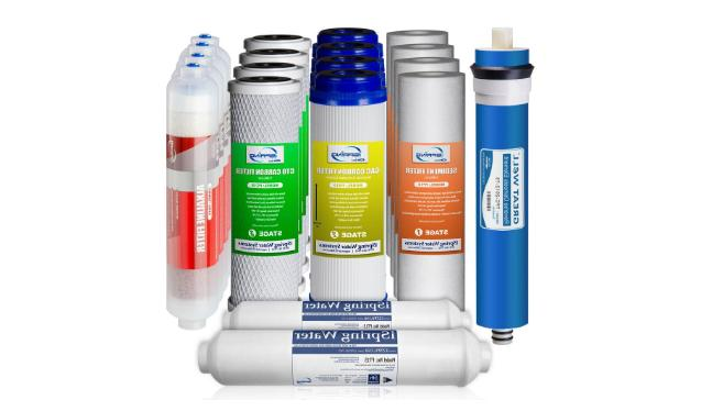 Ispring Reverse Osmosis Replacement Filter Set Alkaline 6-st