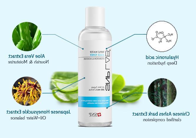SNP Lab+ - Triple Water Toner Skin Softener - 200ml
