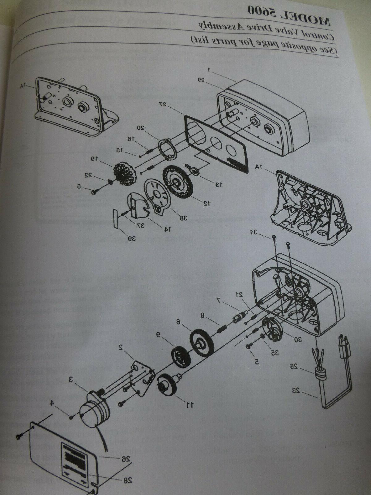 Model 5600 kit & service manual 60900-38 softener