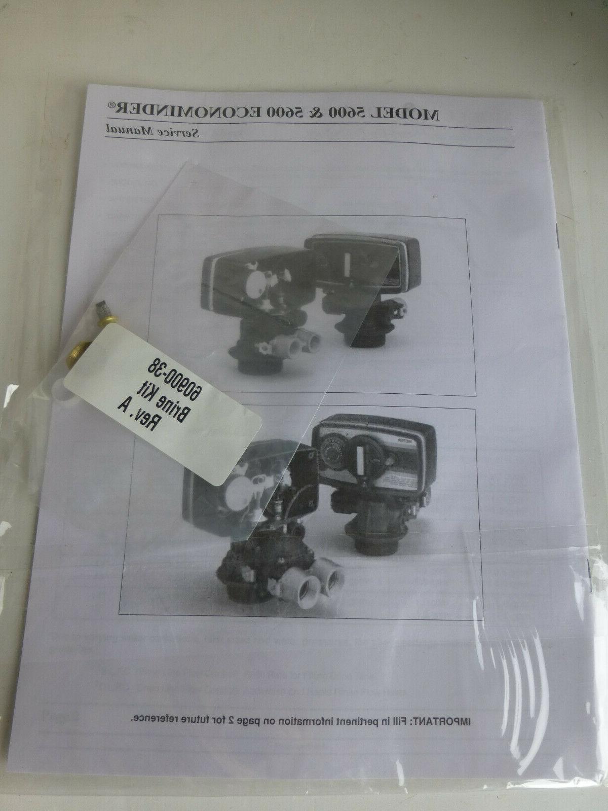 Model kit & manual 60900-38 water