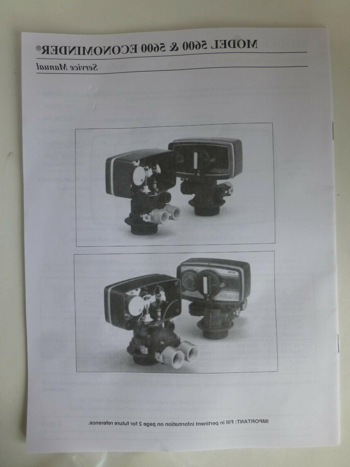 Model 5600 econominder kit & service 60900-38 softener