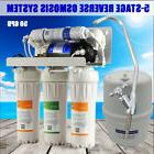 MS® 5 Stage Home Reverse Osmosis System Kit + Pump Compatib