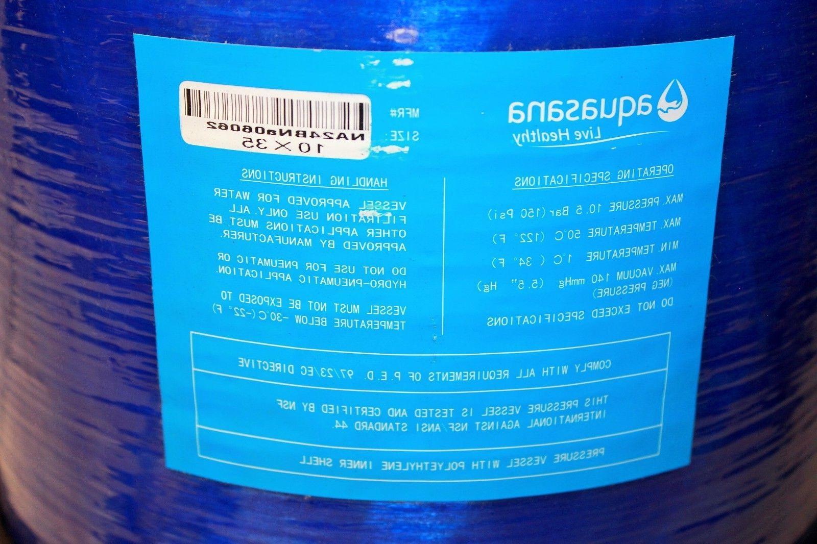 New~Aquasana~EQ-AST-WH-C~SimplySoft~Salt Free~Water
