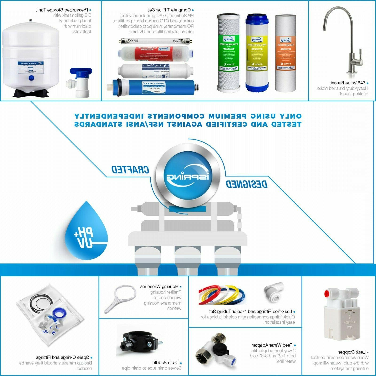 New 7 Osmosis Water FAUCET