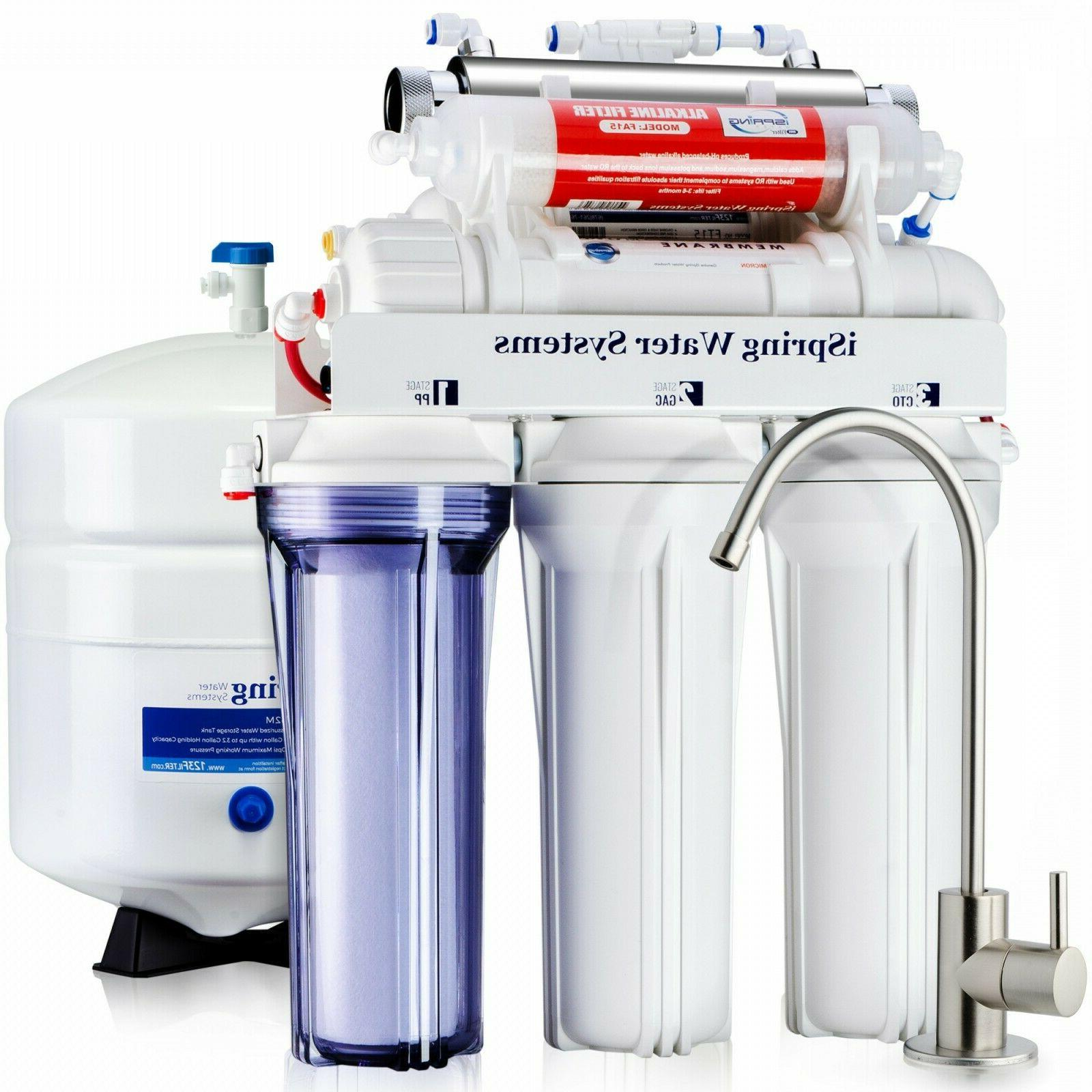 new rcc7ak uv 7 stage reverse osmosis