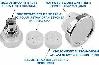 Head Filter Chlorine Flouride Filter