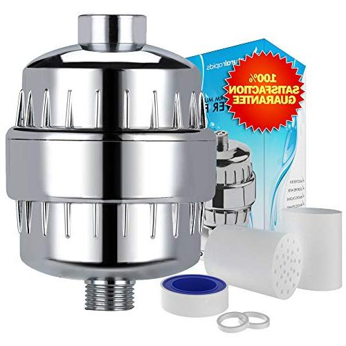 output universal shower filter