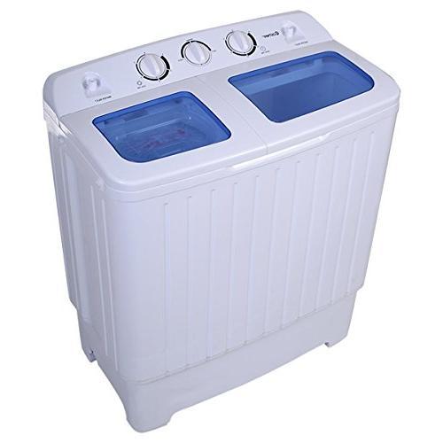 Giantex Compact Twin Washing Machine Washer Spin