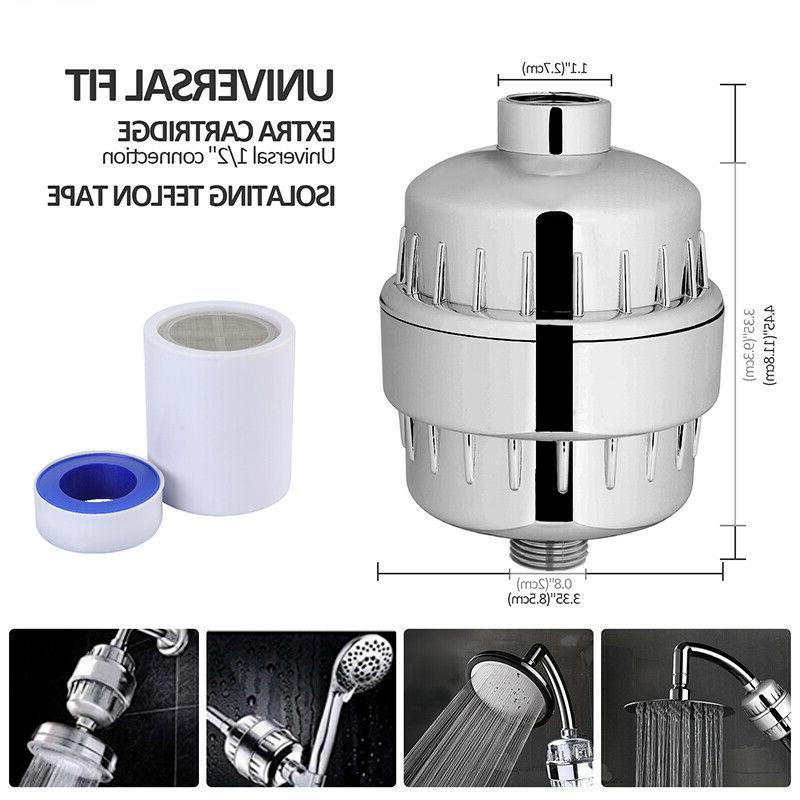 Pro 15-Stage Head Hard Water w/10FT