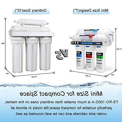 FS-TFC Reverse Water Filtration Water of 4 Filters Free