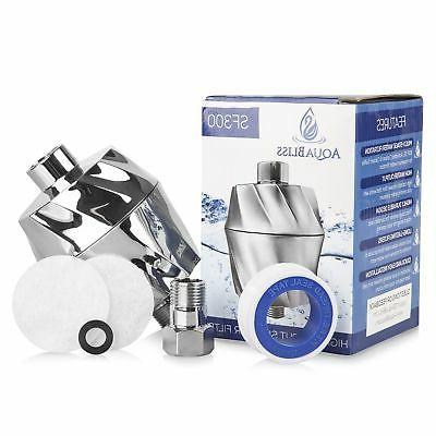 AquaBliss Multi-Stage Shower - Universal Reduces Dry Dandruff, Eczema Glowing & Hair Chrome