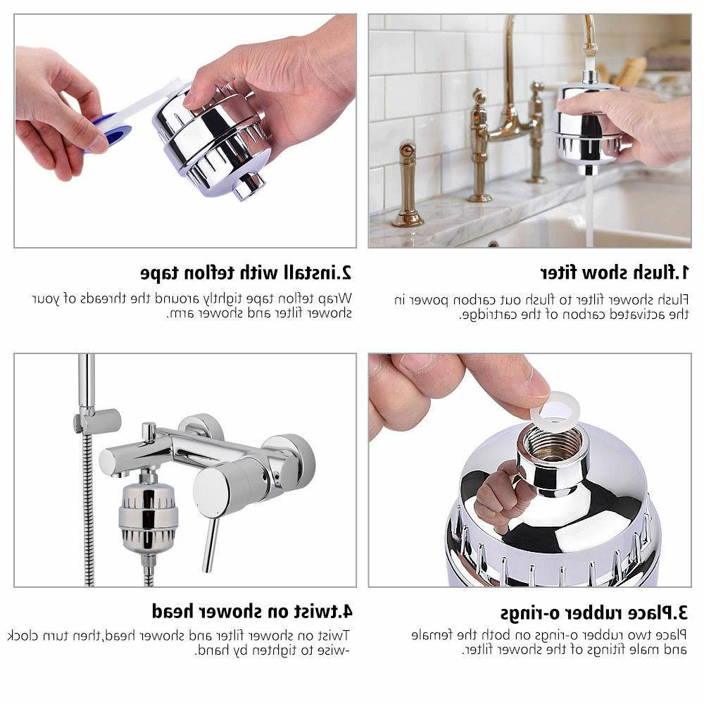 5 filter Purifier Softener Chlorine Removal