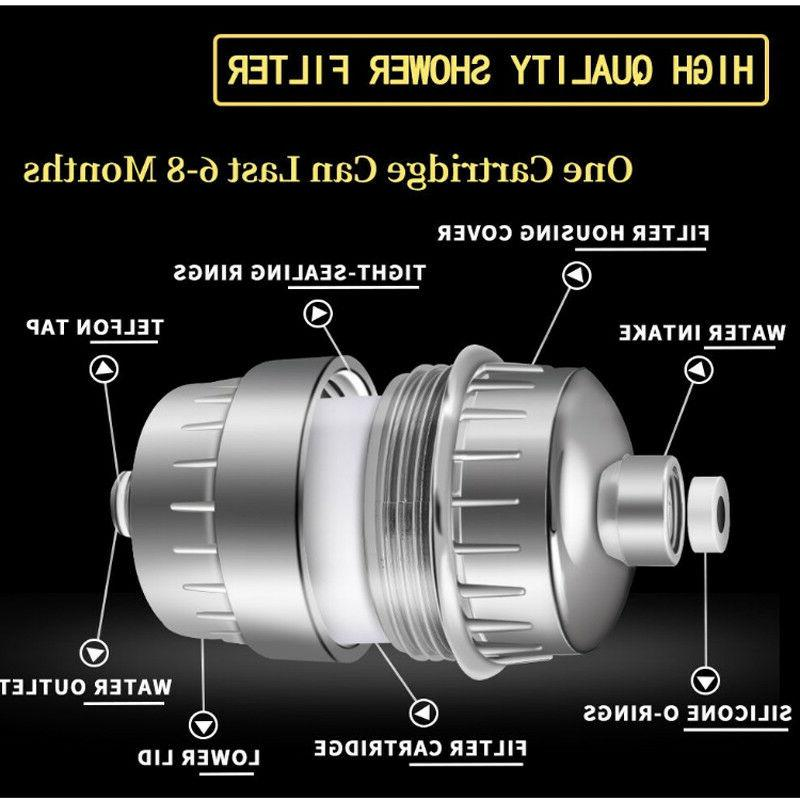 5 StageShower water filter Chlorine ABS