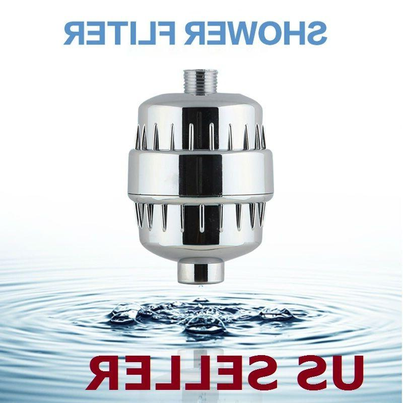 Shower Filter Softener Chlorine  Removal Activated carbon Wa