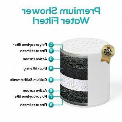 Shower Filter Water Softener Purifier Universal Fit