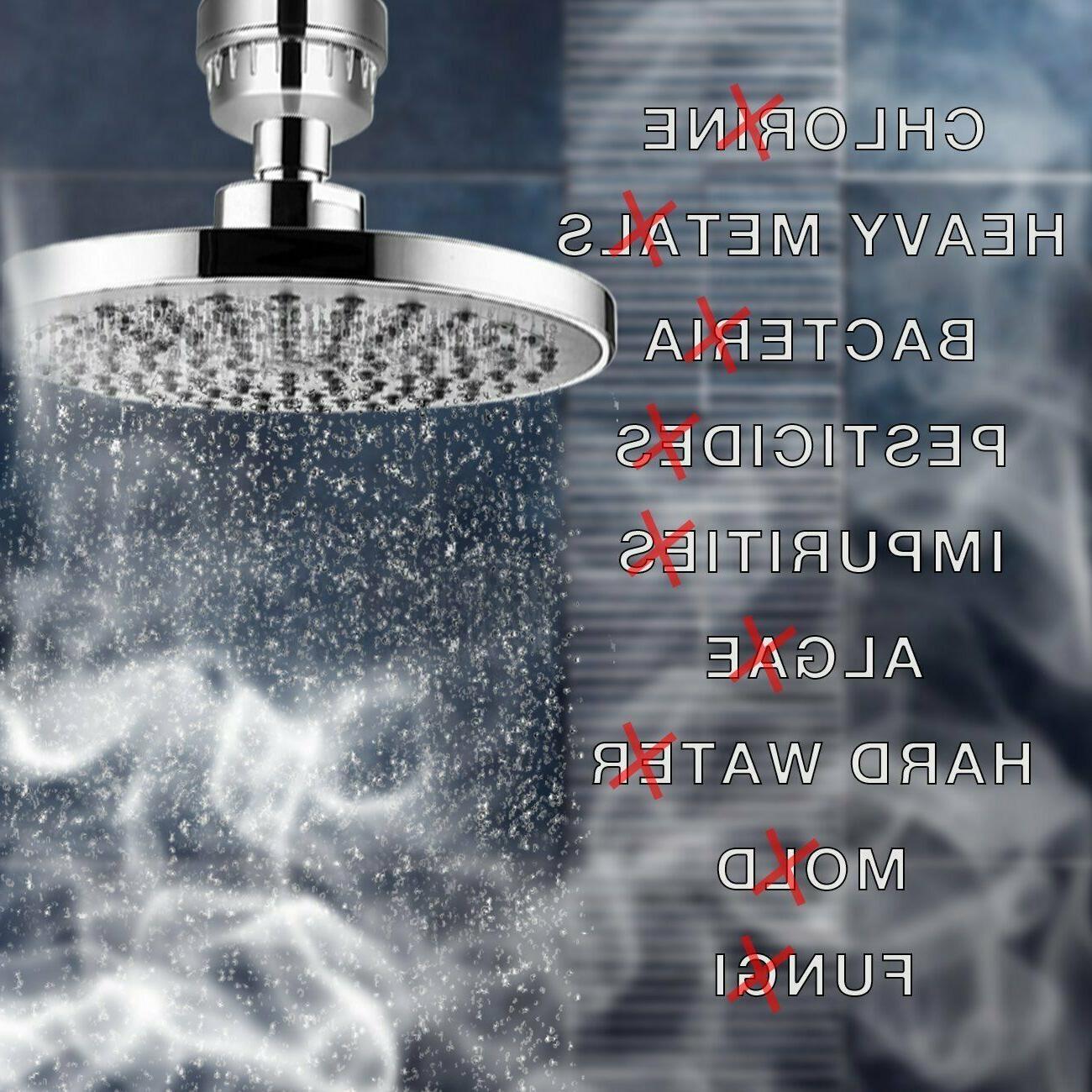 Shower Hard Water Softener Filter Universal