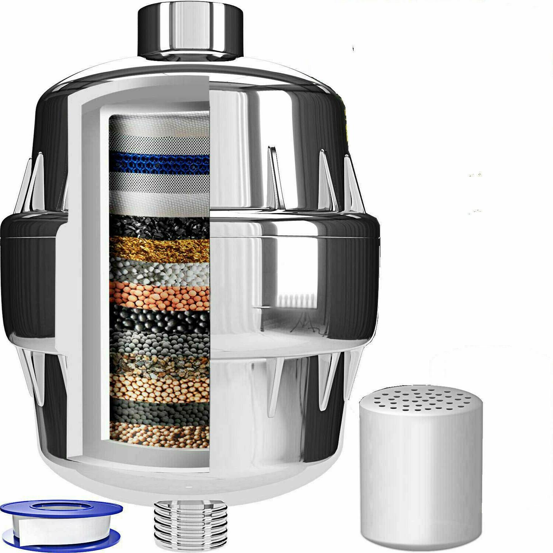 shower purifier hard water softener chlorine filter