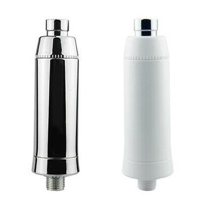 Silver Home Bather Water Purifier Softener Chlorine Remover