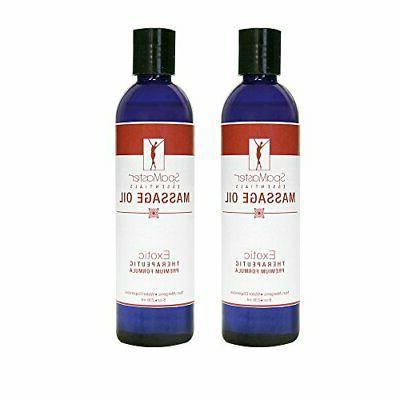 spamaster essentials exotic massage oil 8 oz
