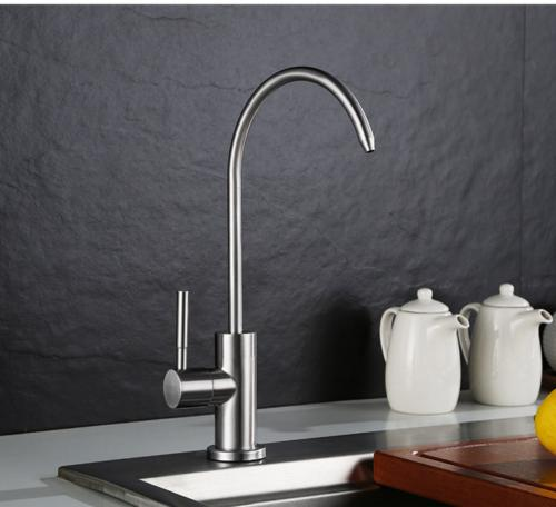 SUS304 Drinking Filter Faucet nickel brushed