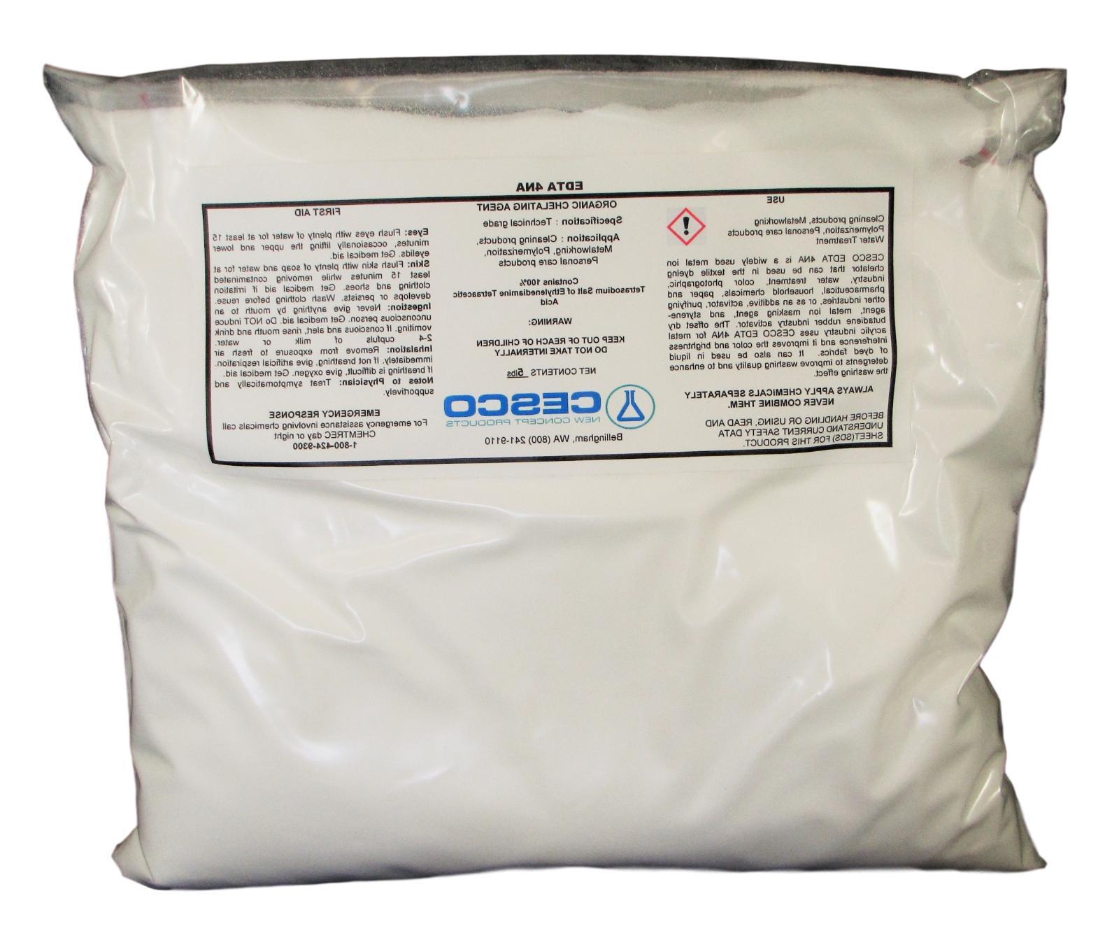tetrasodium edta 4na 5 lb water softener