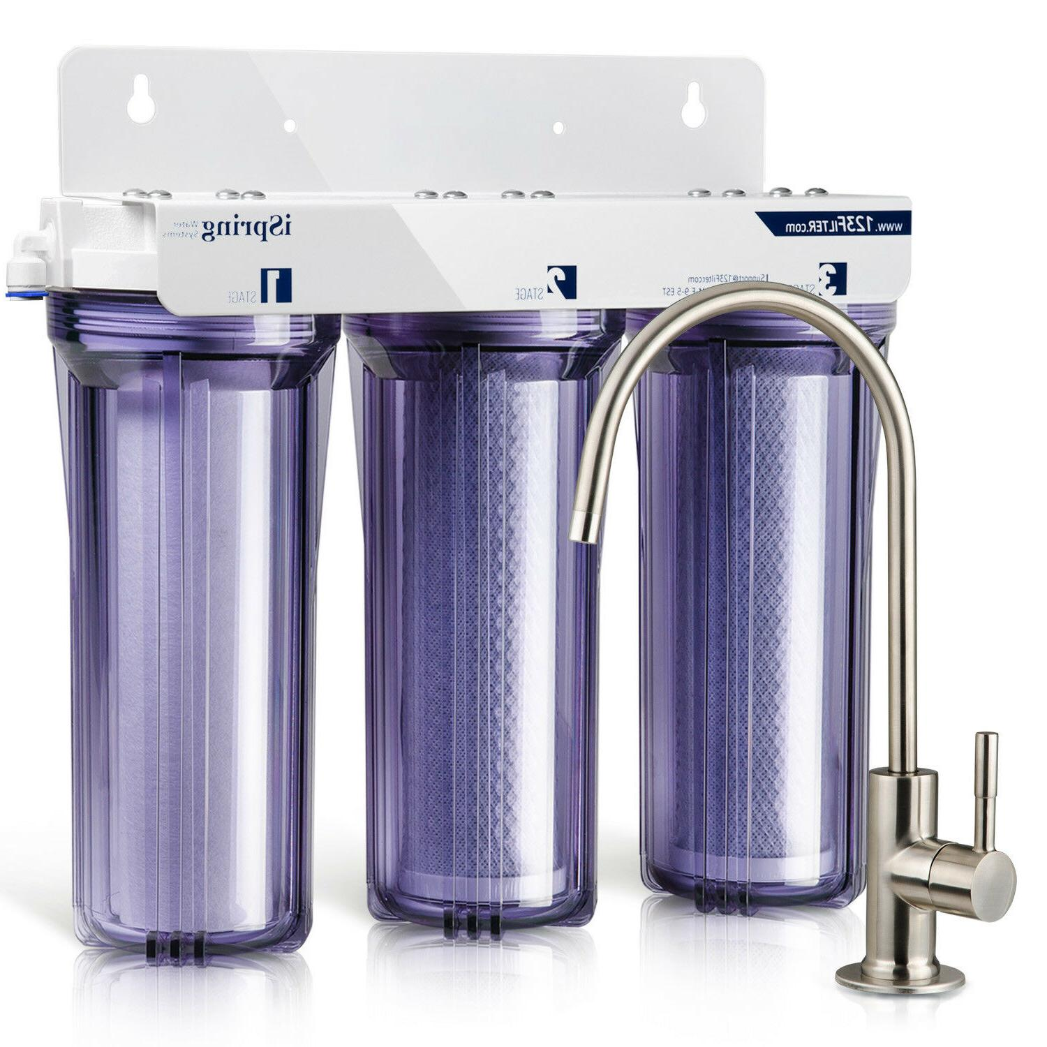 iSpring Under Sink Tankless Drinking Water Filtration - Filters