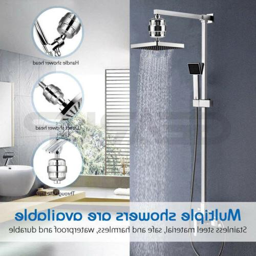 Universal Shower Head Filter 10-Stage USA
