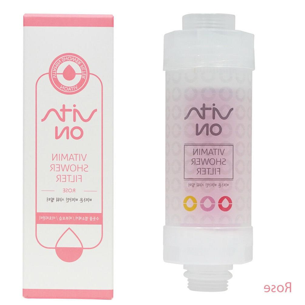Vitamin Shower Bath Head Water Filter Purifier Remove Chlorine