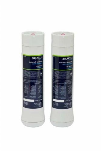Water Filter Pack Fits EcoPure Replacement ECOP30 Reverse Os