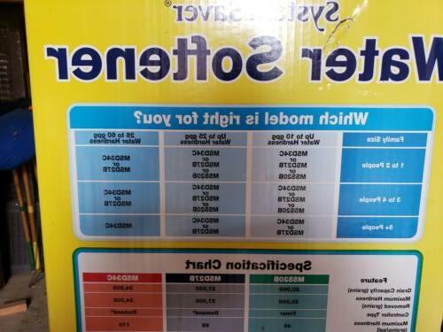 Morton Water Softener Grain Capacity