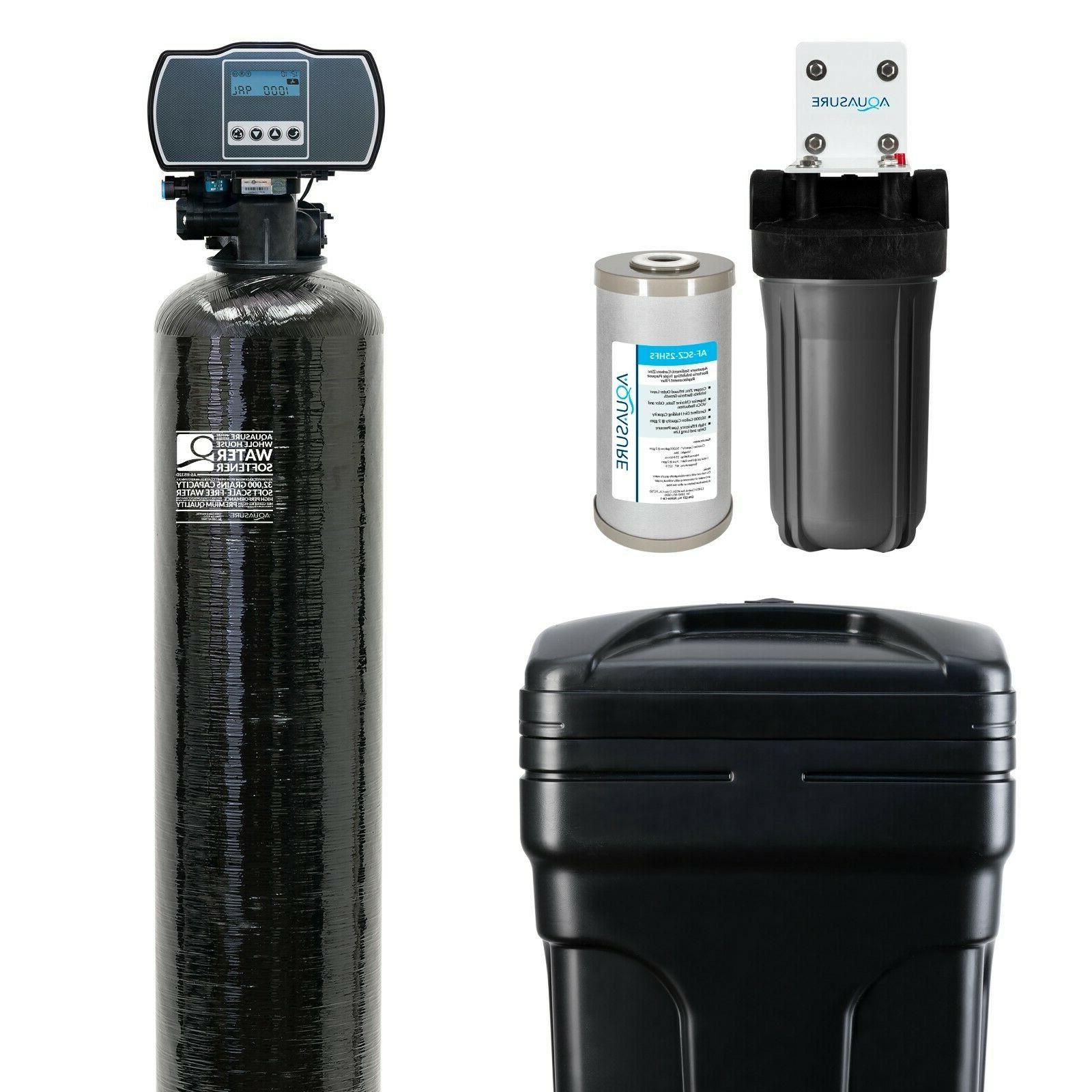 water softener and sediment gac carbon pre