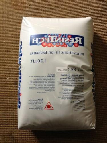 water softener replacement resin 8 percent cross