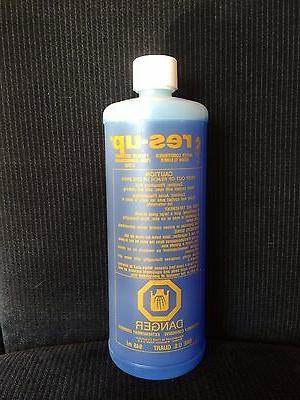 water softener resin cleaning solution
