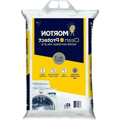 water softener salt pellets 40 lb bag