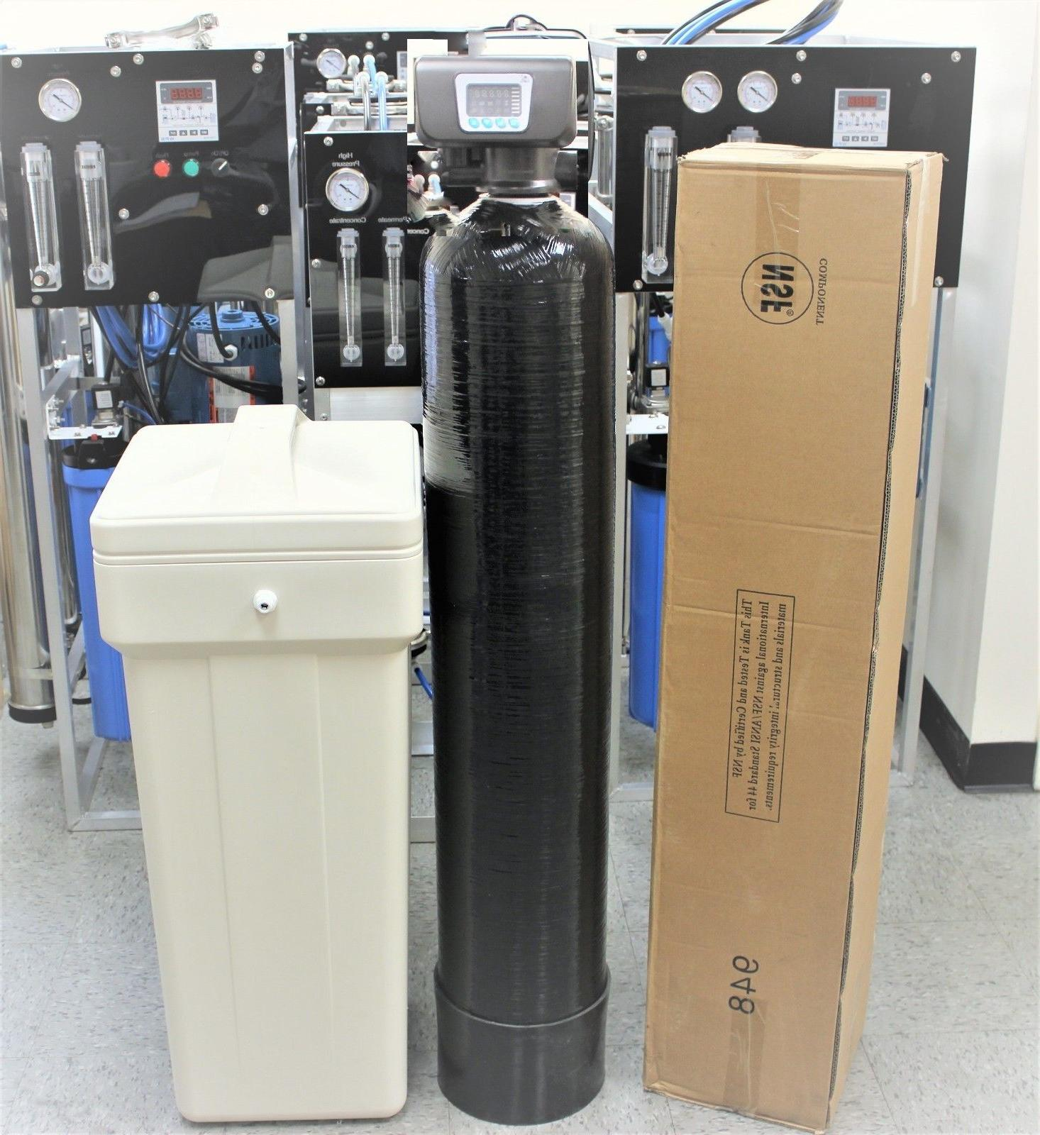 """Water System Filter 32,000 Grain 1 Ft. 9"""" 48"""" Tank Brand NEW"""