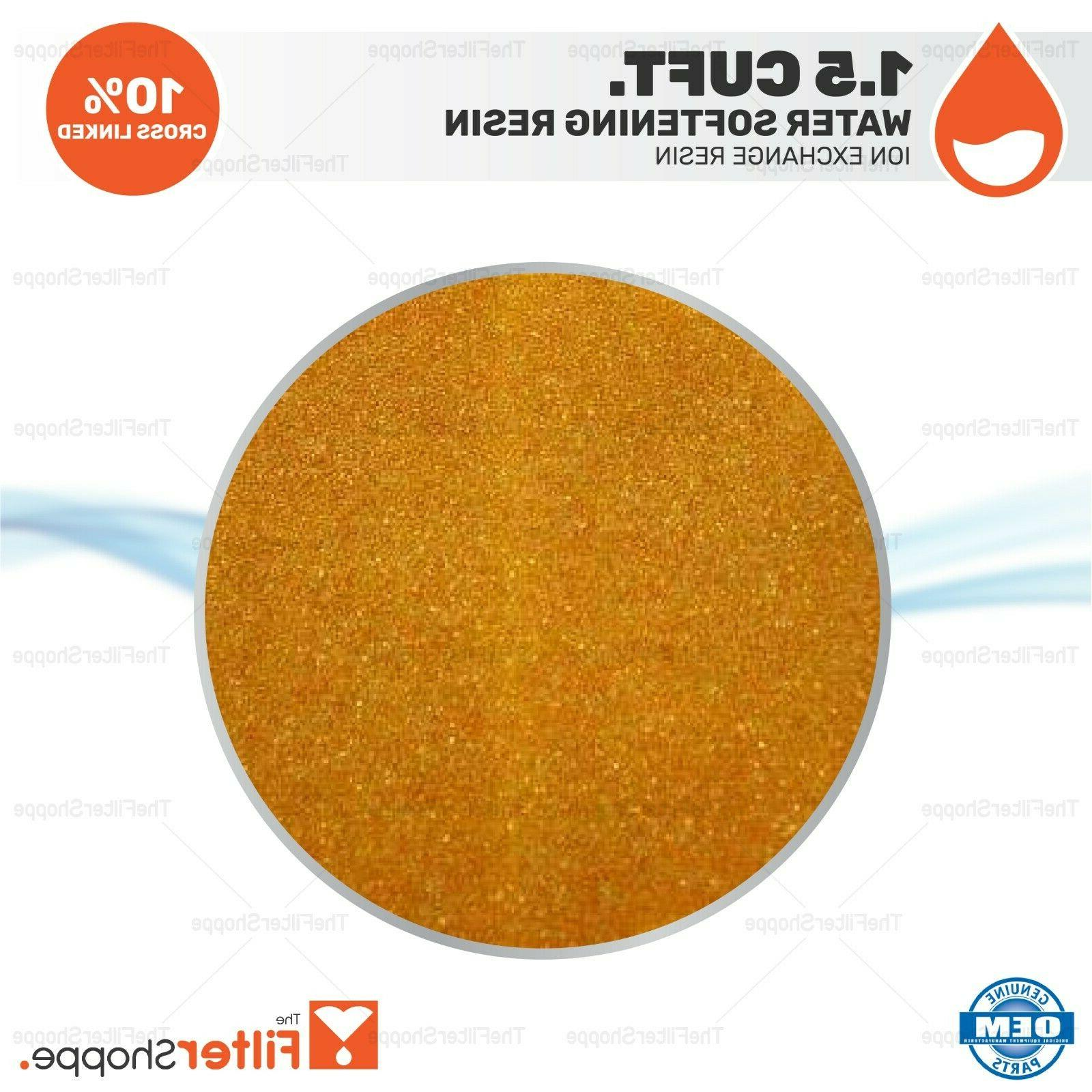 water softening ion exchange resin cation 1
