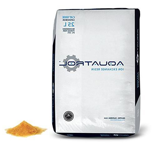 water softening resin softener media