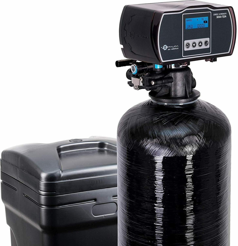 Wholehouse Water Softener Meter Valve for 1-4 Bathroom Home