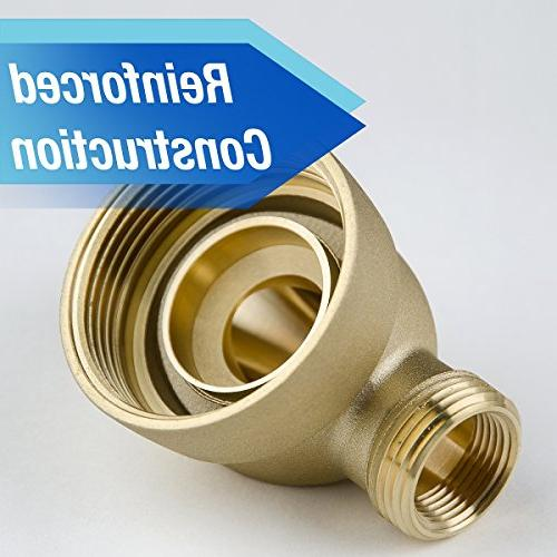 "iSpring Down Sediment Water Filter-50 Micron, 20 1"" MNPT Brass"