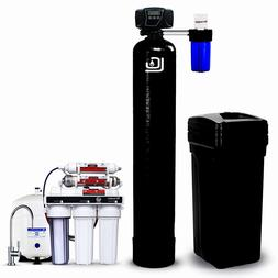 LiquaGen Whole House Water Filter Kit - Water Softener + Dri