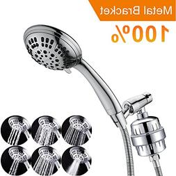 G-Promise Luxury Filtered Handheld Shower Head, Shower Set 6
