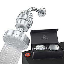 Luxury Filtered Shower Head Set 15 Stage Shower Filter For H