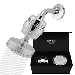 Luxury Filtered Shower Head Set  Shower Head Filter Cartridg
