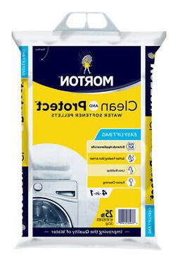 Morton® Clean and Protect® Water Softener Salt Pellets, 25