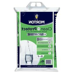 Morton Clean and Protect with Rust Defense Water Softener Pe