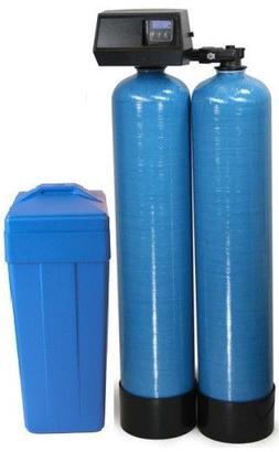 *NEW Fleck 9100 SXT Twin Tank Water Softener 64,000 grains p