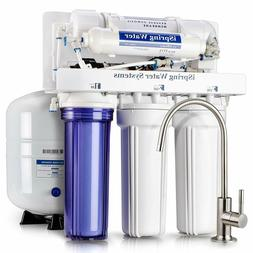 NEW iSpring RCC7P 5-Stage Reverse Osmosis Filtration System,