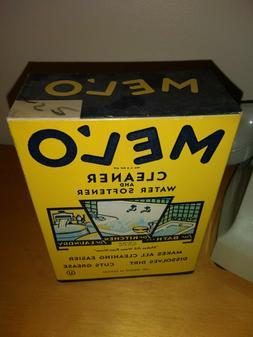 NOS Vintage MELO Cleaner & Water Softener Sealed Full Box gr