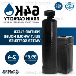 Pentair Fleck Controlled 64,000 Grains Water Softener System