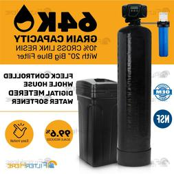 Pentair Fleck Controlled Whole House Digital  Water Softener